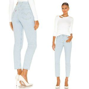 Levi's Premium Wedgie High Rise Jeans Signal Lost